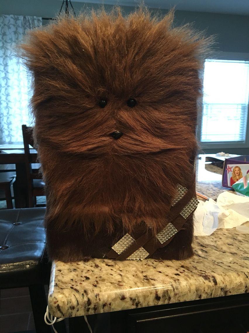 LOL Wookie Chewbacca Star Wars Valentines Box  Awesomeness