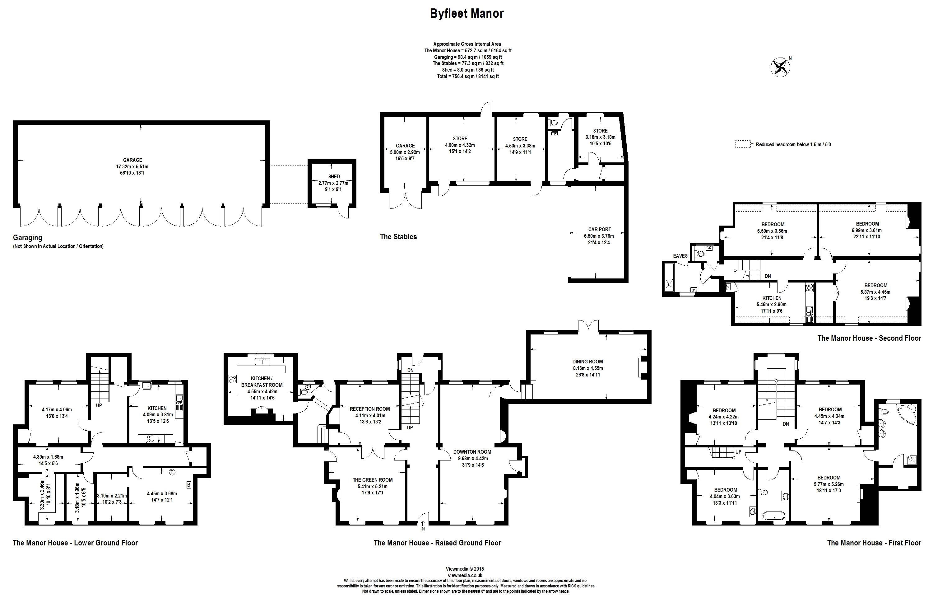 Floor Plans Of The Dowager House Which Was For Sale At 4m In May 2015 Highclere Castle Floor Plan Downton Abbey House Byfleet