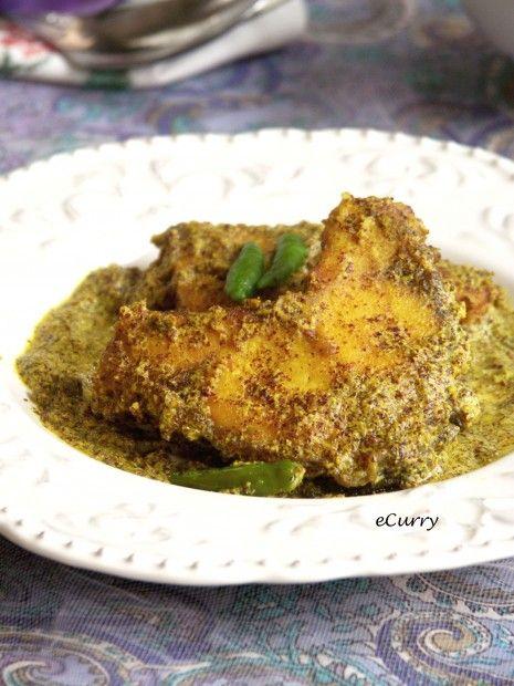 Indian Fish in Mustard Sauce...