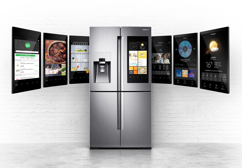 Samsung Family Hub Fridge Freezer. Complete with huge