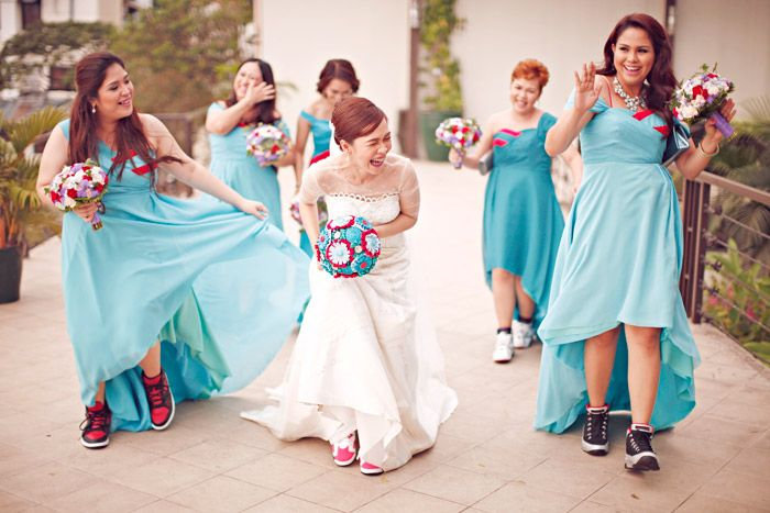 Air Jordan Themed Wedding Wedding Entourage Bride Barbie Wedding