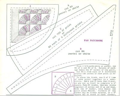 Grandmothers Fan Quilt Pattern Catalog Of Patterns Quilt Block Pattern Quilt Patterns Free Antique Quilts Patterns