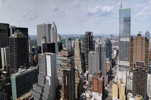 Midtown Manhattan And Central Park New York City New York Nyc Midtown Manhattan