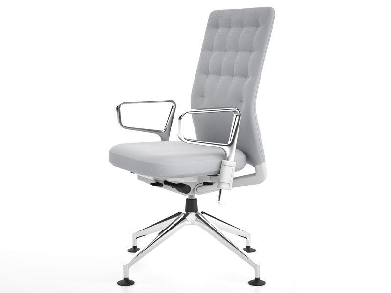 fauteuil de direction avec dossier moyen id trim by vitra. Black Bedroom Furniture Sets. Home Design Ideas