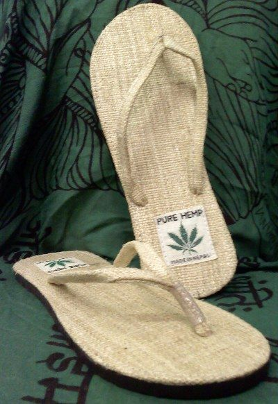 5eb858a0214cf Natural Hemp Flip-flop Sandals. Fair Trade and made in Nepal - Unisex Sizes  Sale price   13.20 CAD
