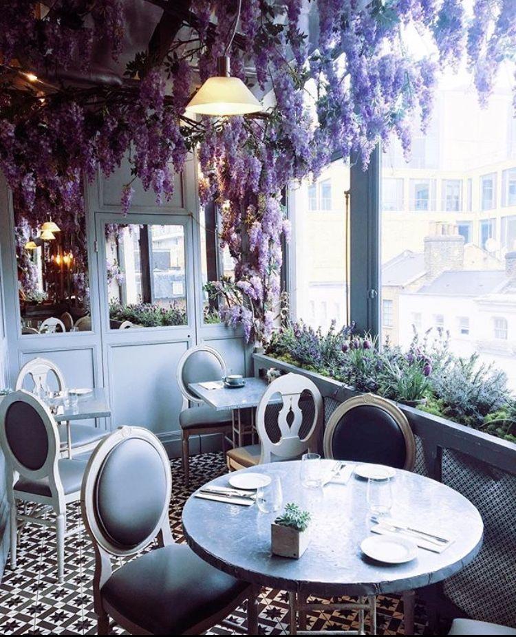 Floral Cafés in London 2018 TREND Instagram 2018