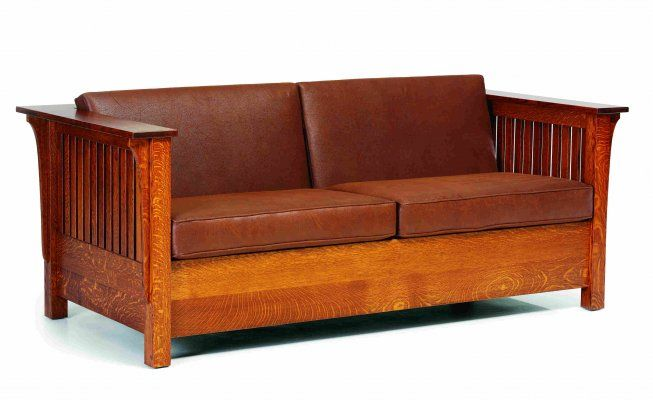 Mission Style Sofa Bed