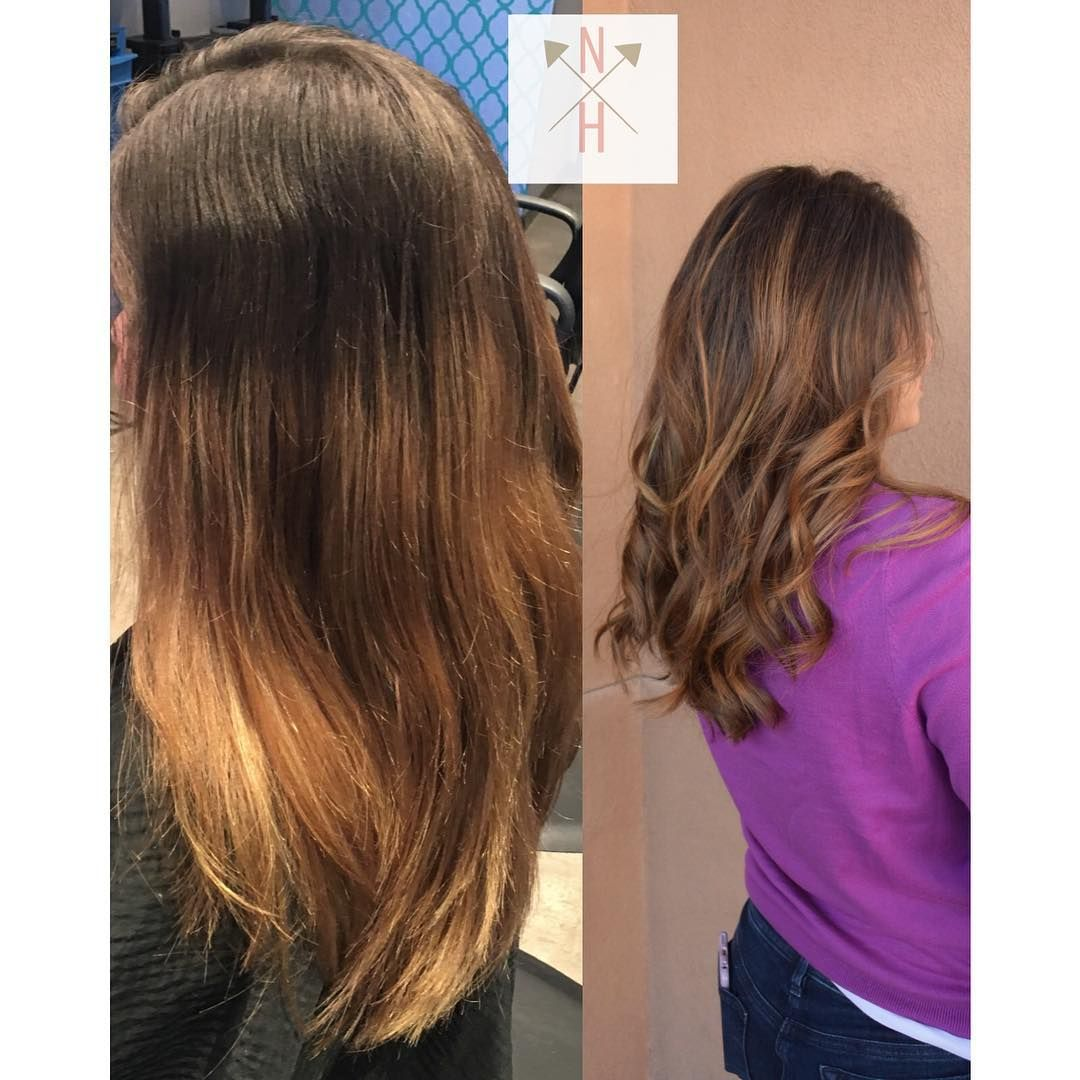 From Grown Out Color To Beautiful Balayage