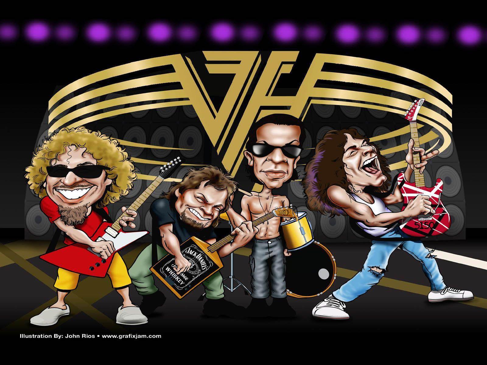 Wallpapersxl Wallpapers 1600x1200 Van Halen 281301