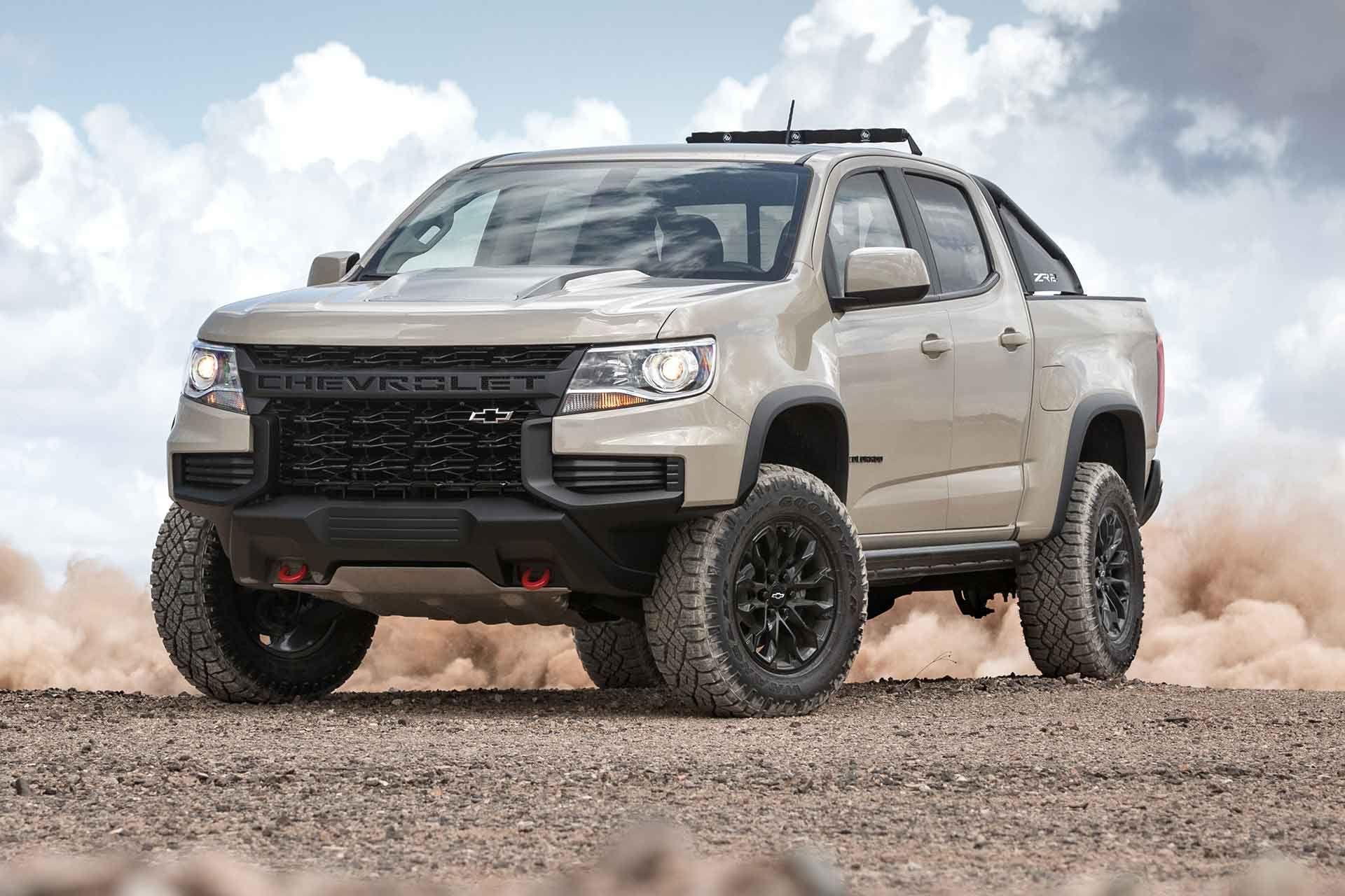 2021 Chevrolet Colorado Zr2 Truck Chevrolet Colorado Chevy