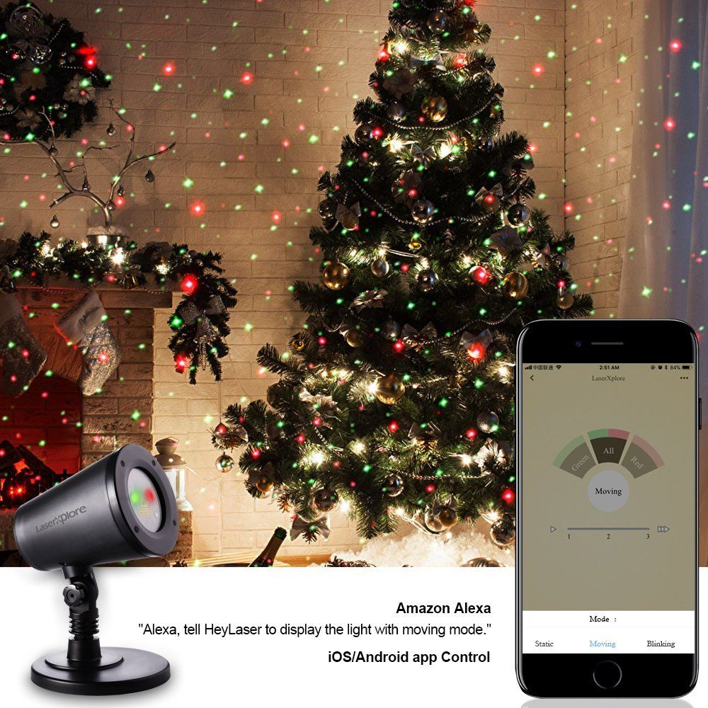App Controlled Christmas Lights Laser Christmas Lights Christmas Lights App Control
