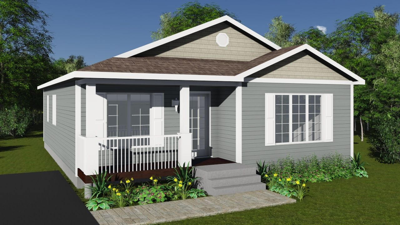 Lovely Hawthrone Modular Home Floor Plan Bungalows Designs Design One Story House  Bungalow Plans
