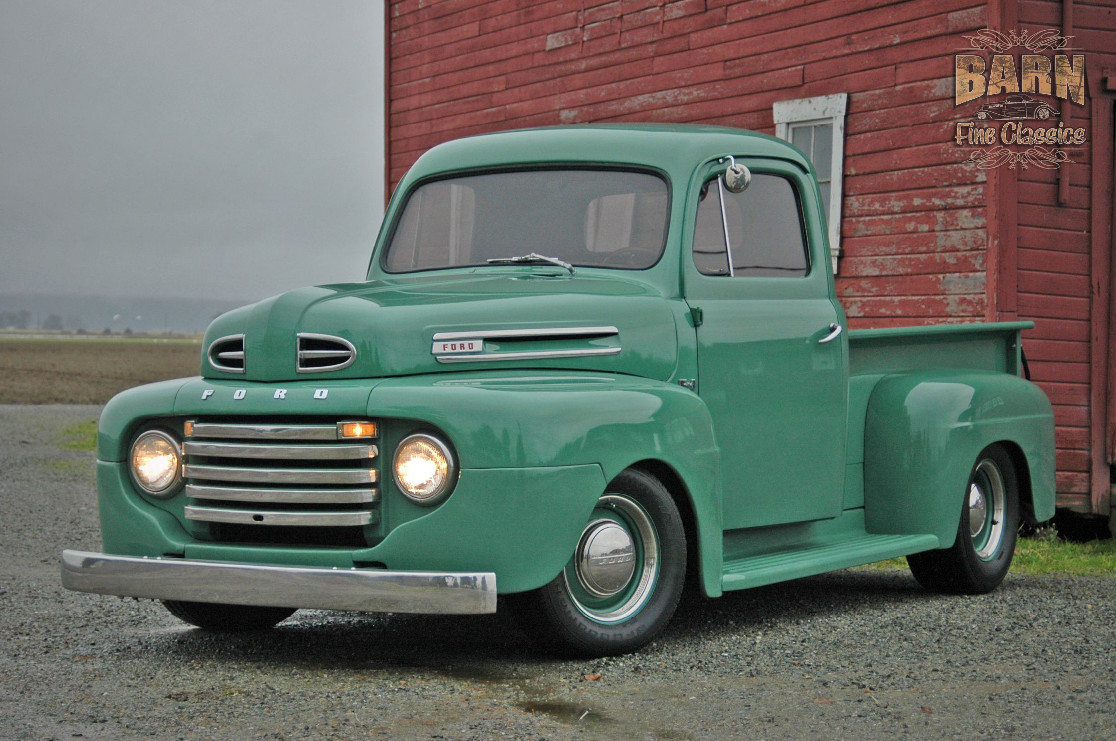 1950 Ford F1 Pick Up In Mint Green I Want This Truck Parked Next