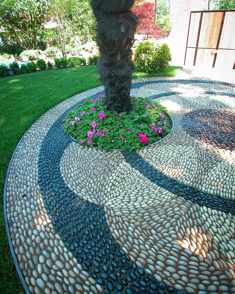 By Matusan   Pebble Mosaics for the garden   Pinterest   Mosaics ...