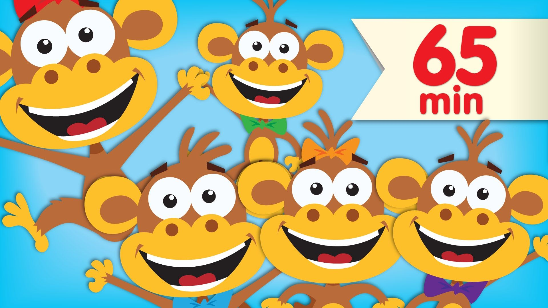 One Of Our All Time Favorite Kids Songs It S Five Little Monkeys