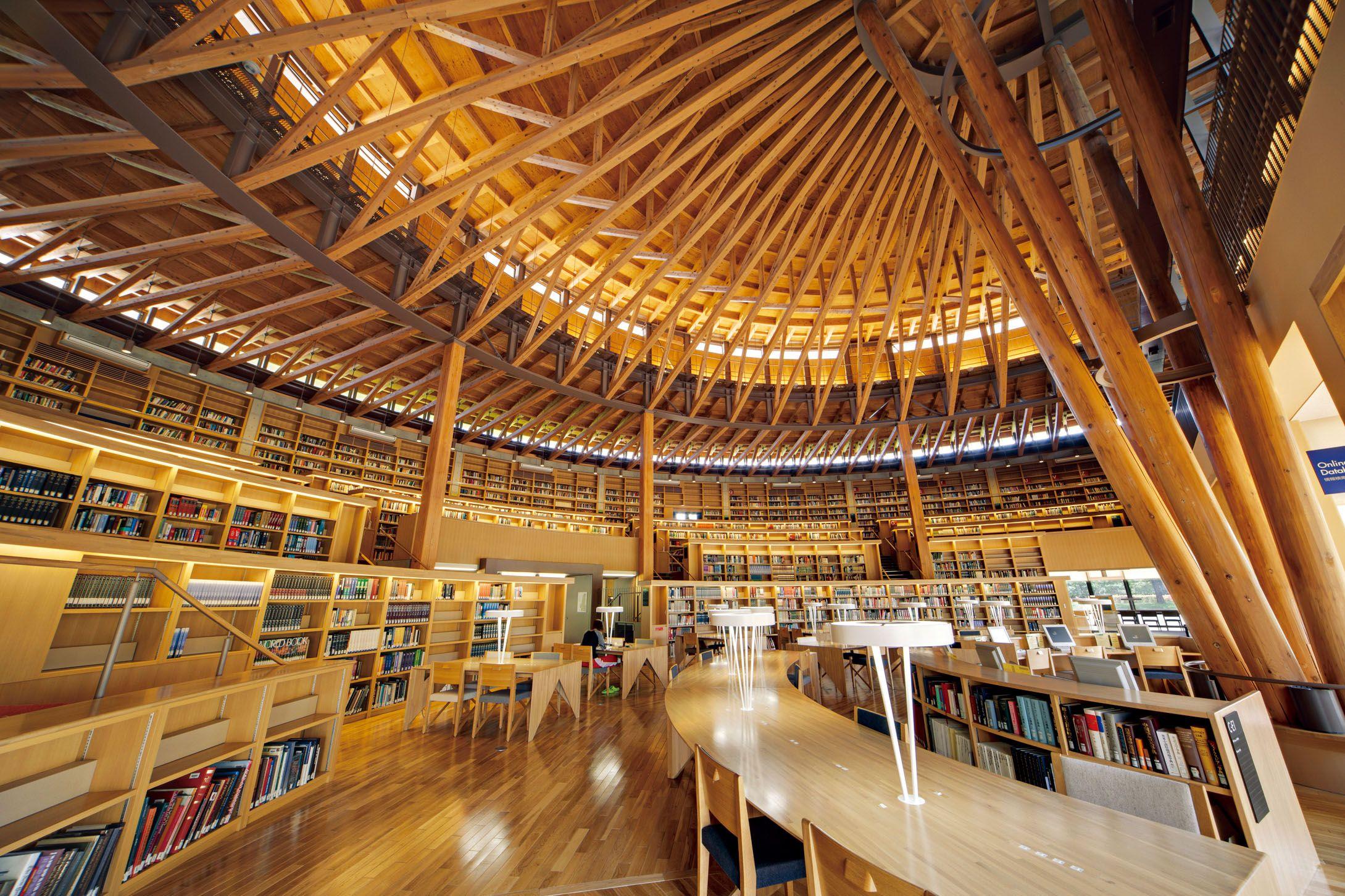 一度は行ってみたい 美しすぎる日本の図書館5選 図書館 建築 旅行