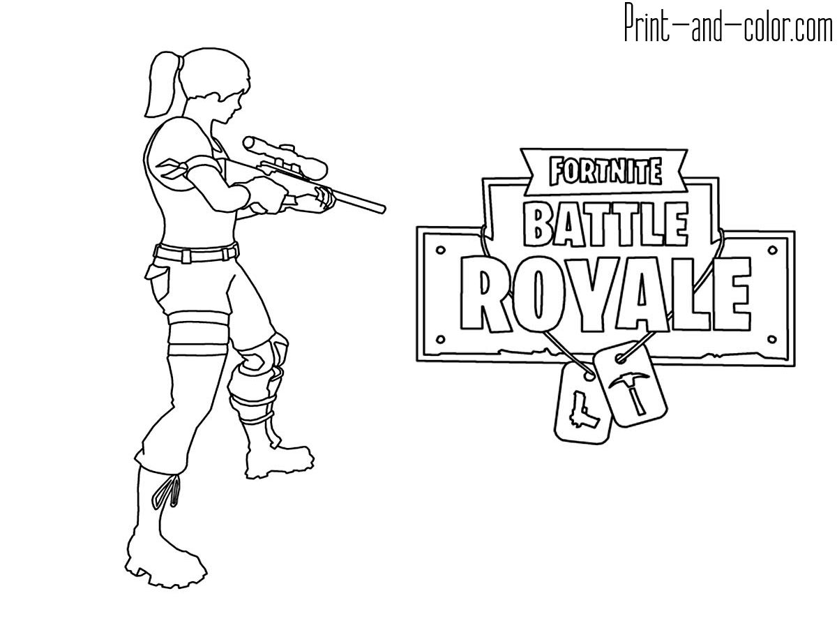 Coloring Book Fortnite Coloring Pictures