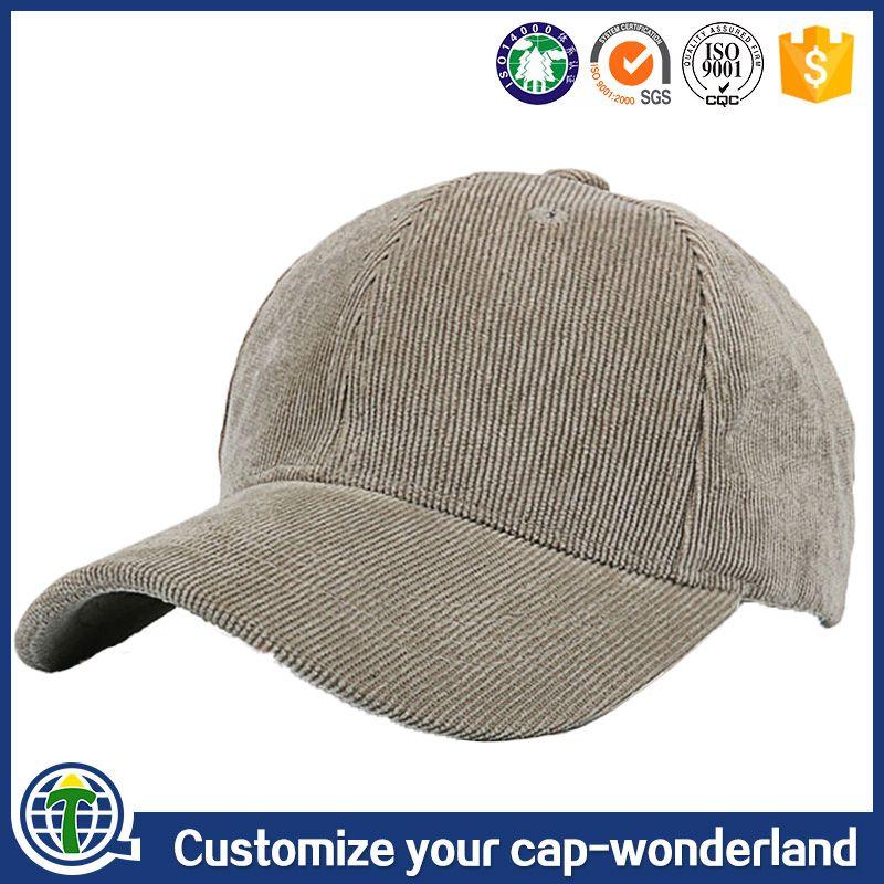 b287d612c1d cheapest hip hop 6 panel vintage plain corduroy blank cap custom corduroy hat  hats and caps