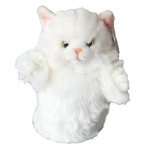 LightningStore Super Cute White Cat Hand Puppet For Story Telling Bedtime Story Stories Doll Realistic Looking Stuffed Animal Plush Toys Plushie Children's Gifts Animals ... LightningStore http://www.amazon.com/dp/B01BJXPQLO/ref=cm_sw_r_pi_dp_HY0axb0DPEBRZ