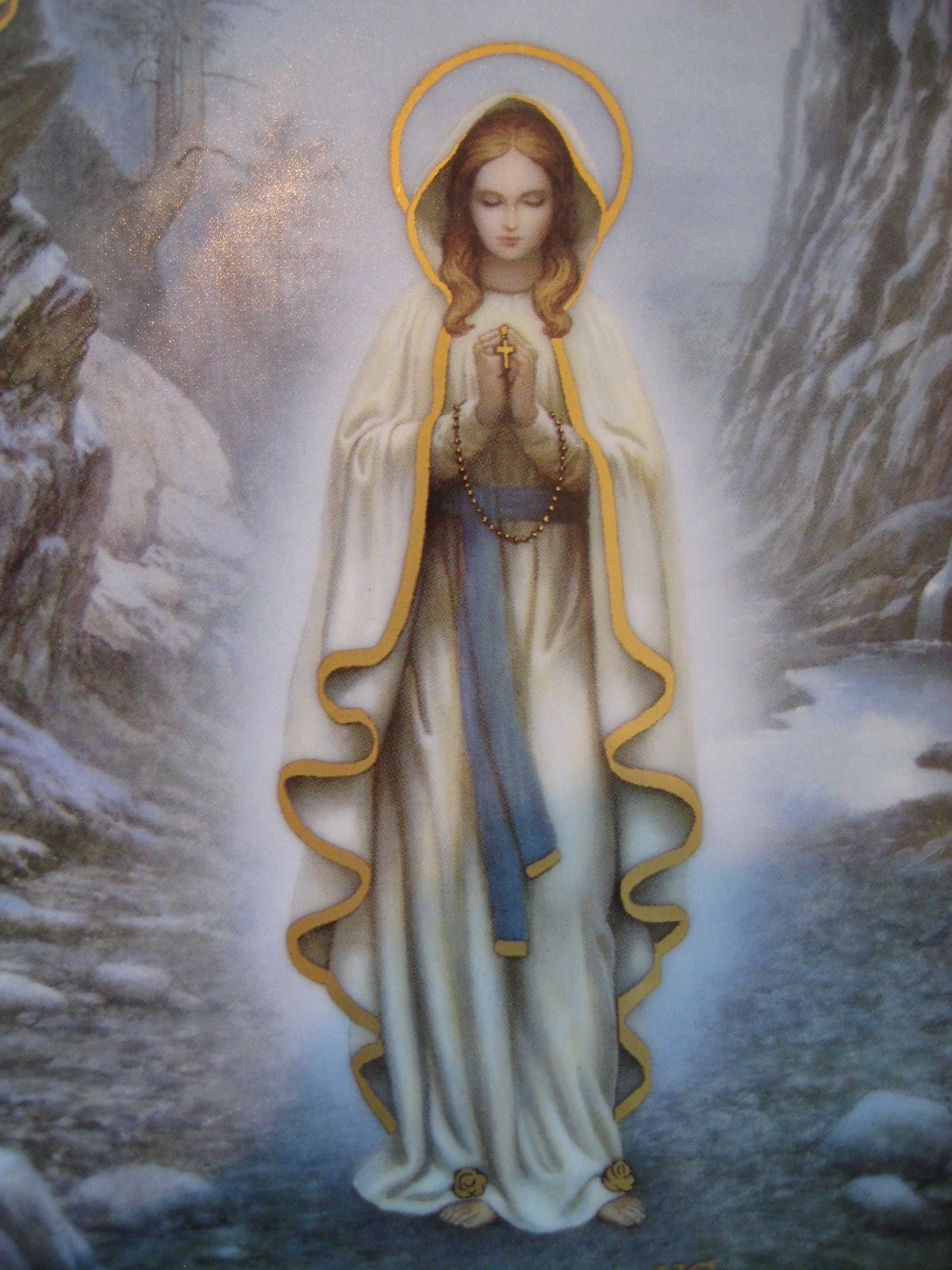 Our Lady of Lourdes: You know her by her white clothes and ...