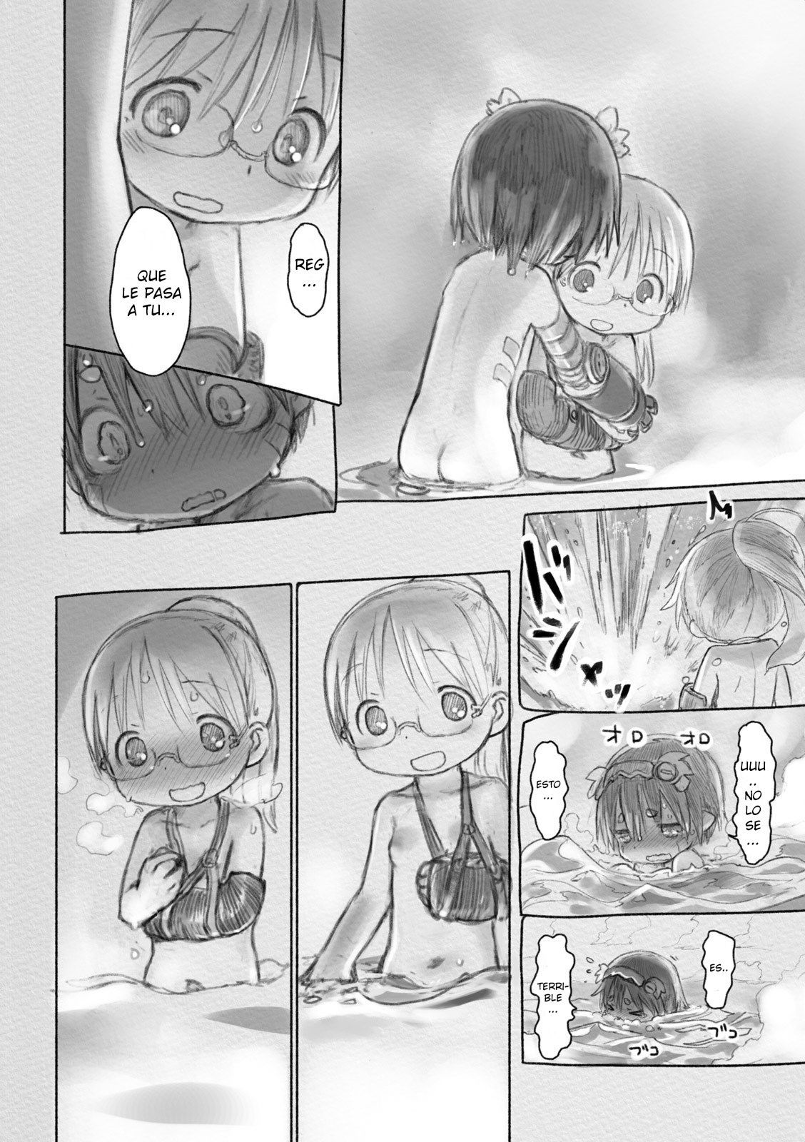 Made in Abyss  2500 por ThatOneSpider  no mames  Manga Anime y Abyss anime