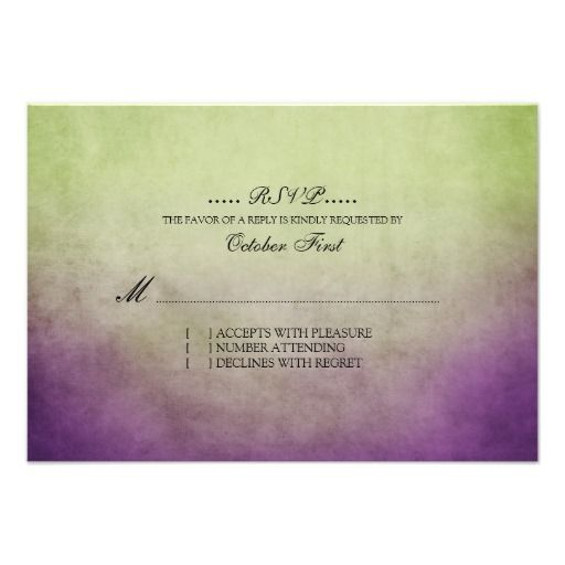 ReviewRustic Green and Purple Bohemian Wedding RSVP Personalized Invitationstoday price drop and special promotion. Get The best buy