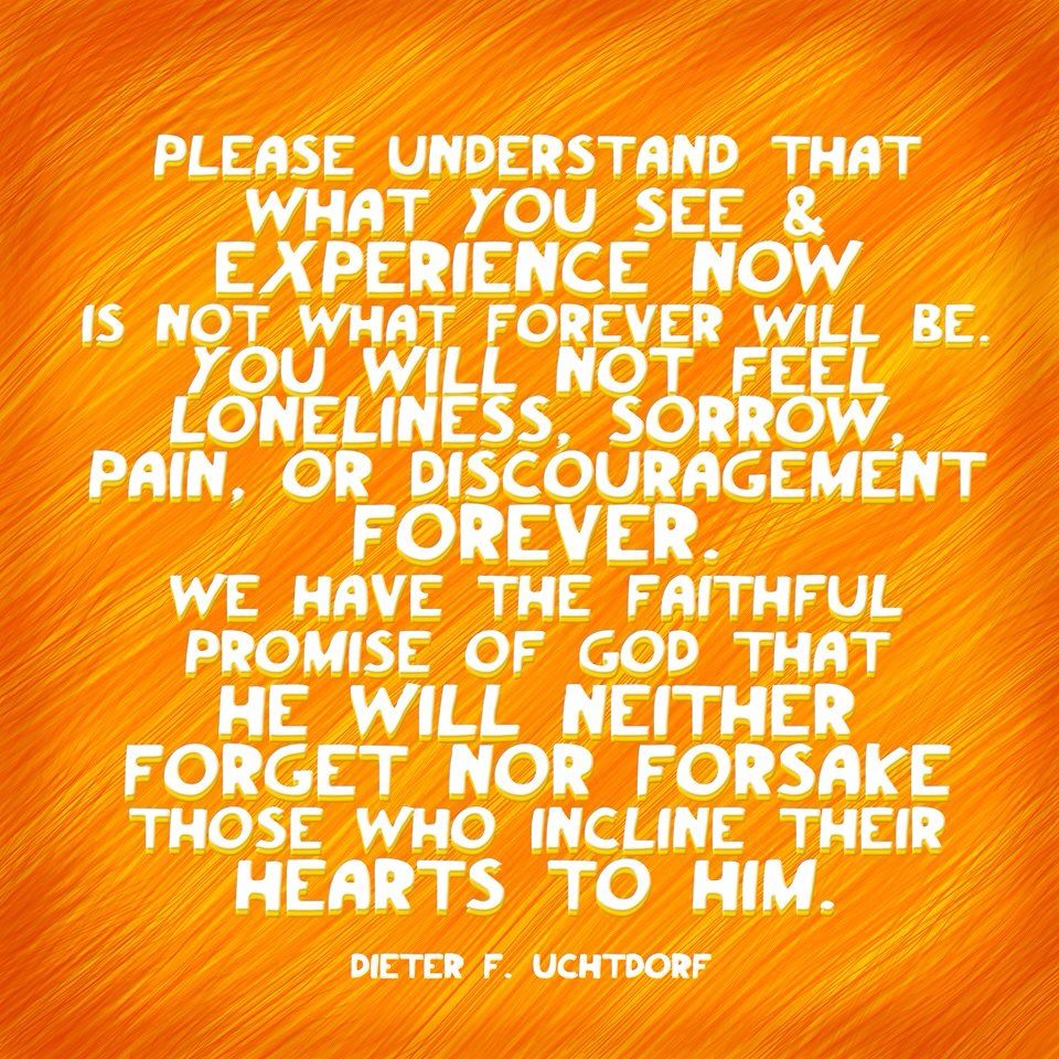 please understand that what you see and experience now is not what