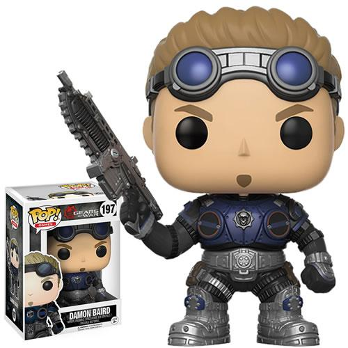 Funko Gears Of War POP Damon Baird Armored Vinyl Figure NEW Toys Video Game