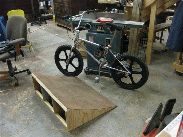 Build A Bicycle Ramp Bmx Bike Wooden Bike