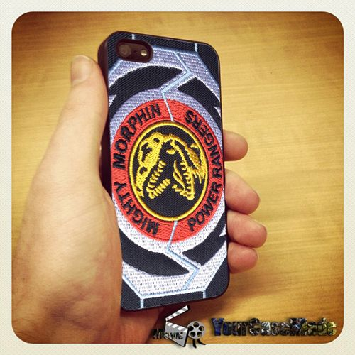 info for 9e596 0aa66 Mighty Morphin Power Rangers Logo iPhone case | Best iPhone Case ...