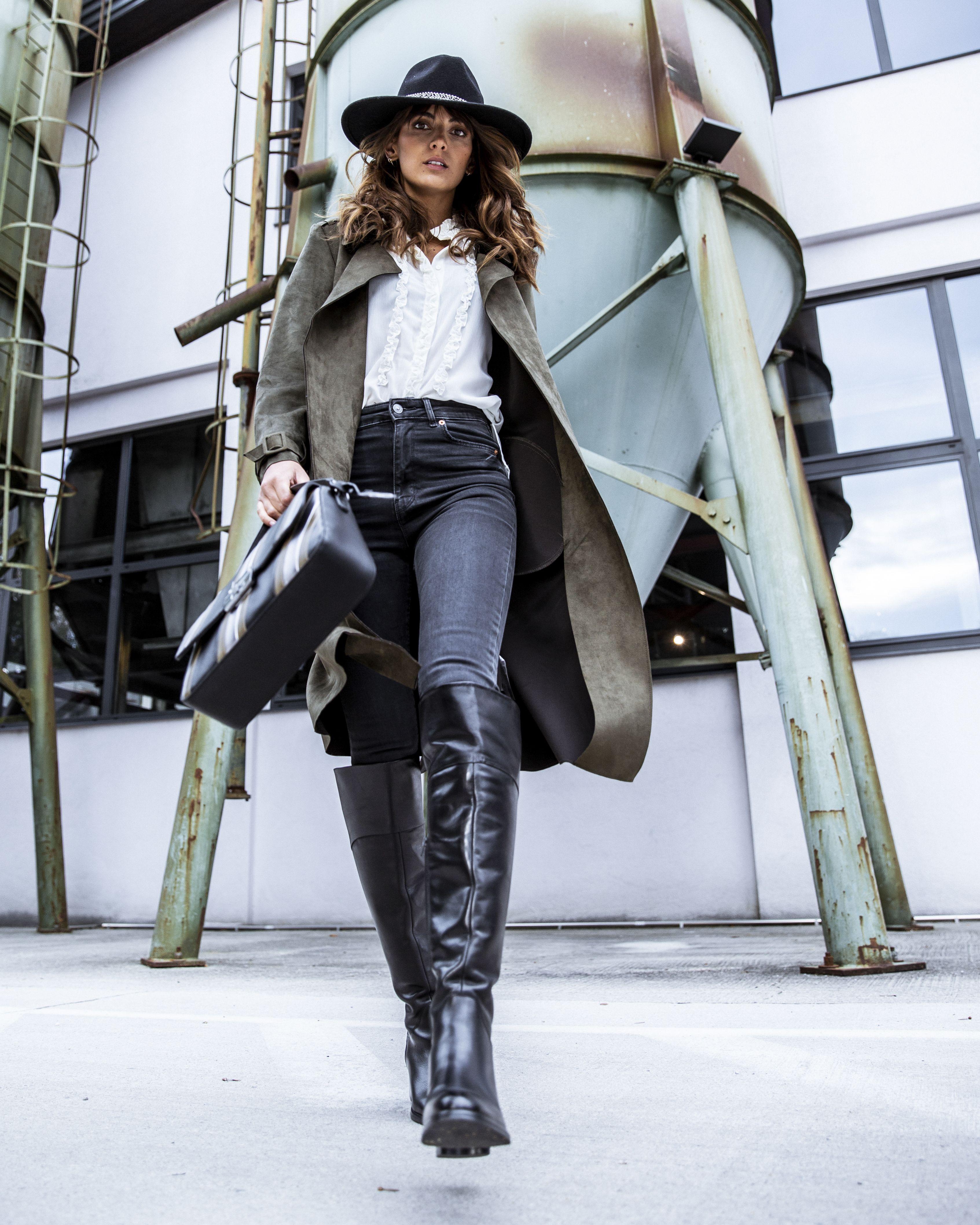 buy popular 1ffbf 81428 Glattleder Stiefel in 2019 | HUMANIC • FALL Boots 2018 ...