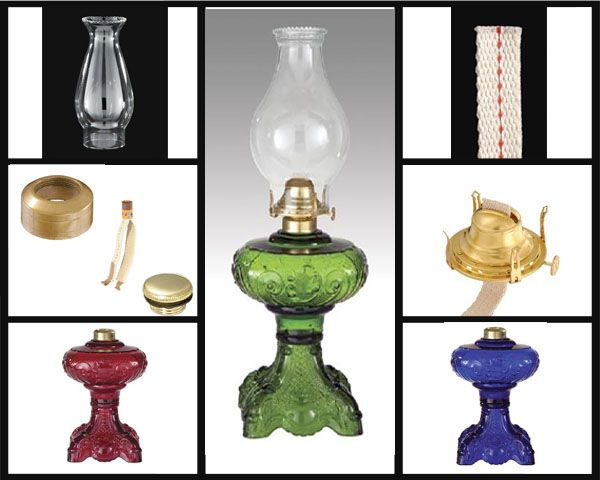 Miniature Sweetheart Lamp Antique Lamp Supply Oil Lamps