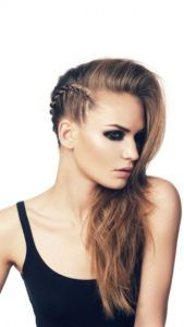I'd like a more soft version of this side braid.