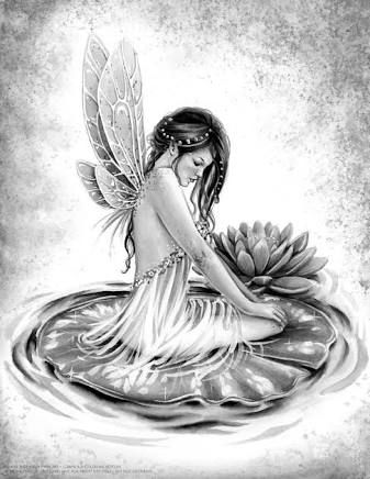 Image Result For Greyscale Colouring Pages Fairy Drawings Fairy Art Grayscale Coloring
