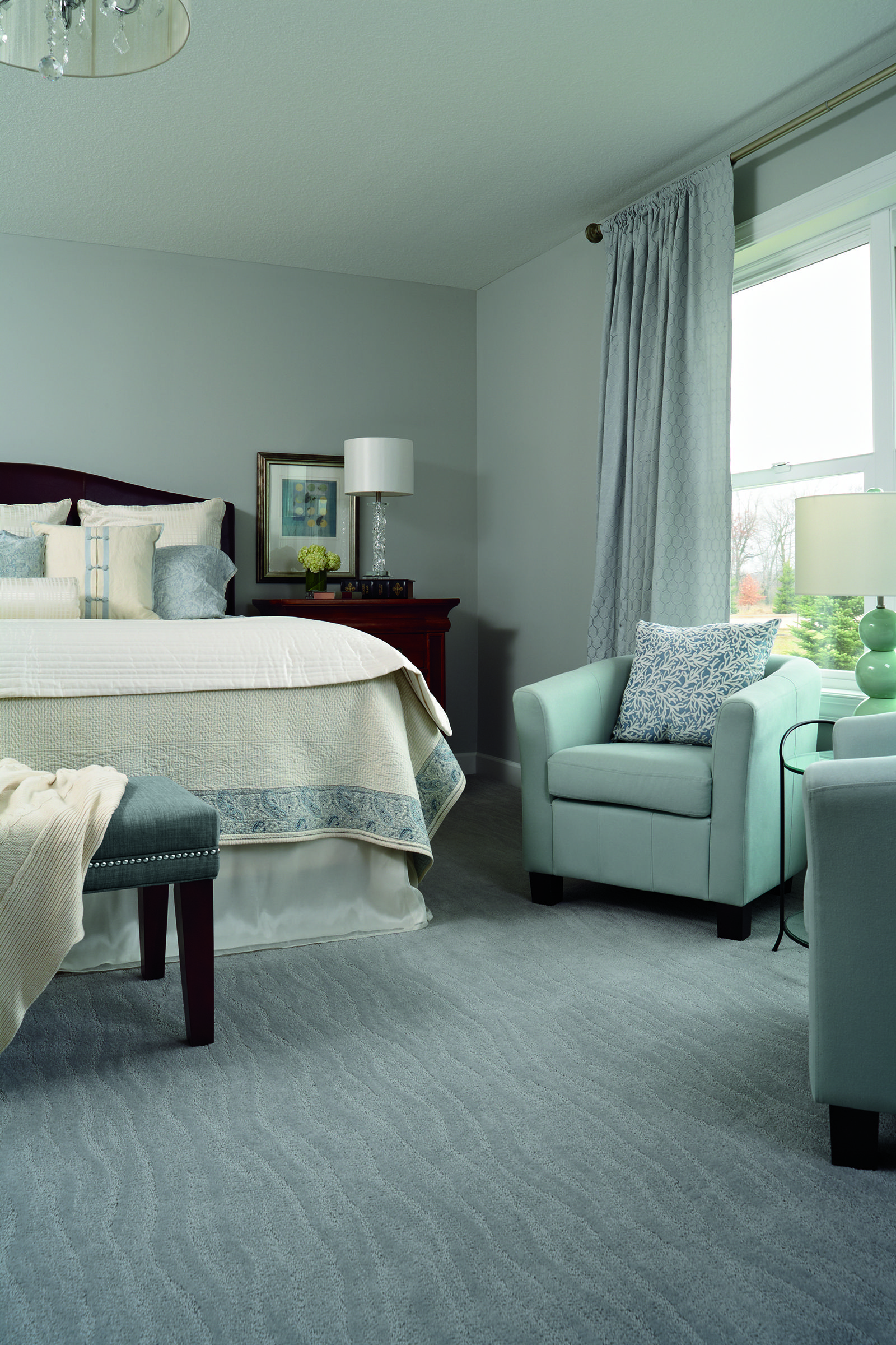 Beautiful Carpet To Go With A Beautiful Blue Bedroom Find It At