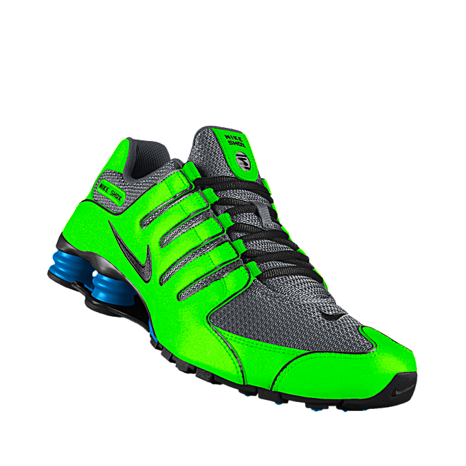 Custom Nike Shox NZ iD Women\u0027s Shoe Love the color!