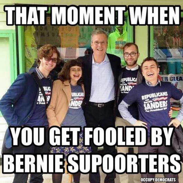 898f94cee4d5d65a6e8bf779118e1b46 funniest political memes of 2016 (so far) jeb bush photobomb