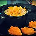 Mini cocotte de nage de colin au curry - Poil Aux Dents
