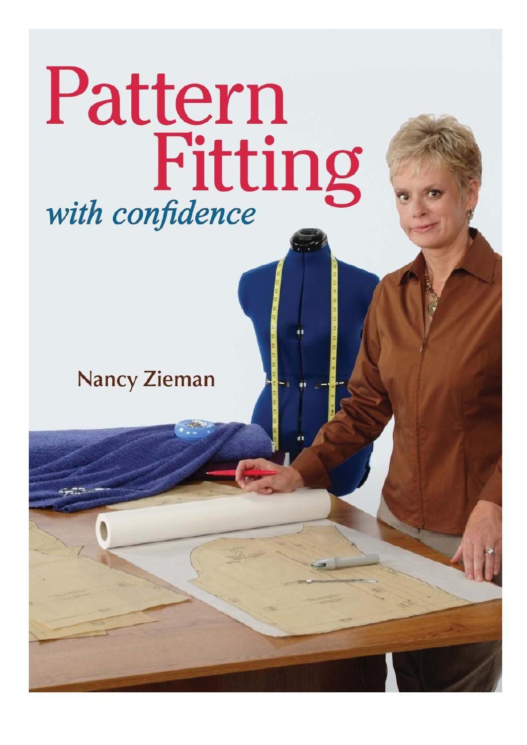 Pattern Fitting with Confidence by Nancy Zieman   Buecher und Nähen