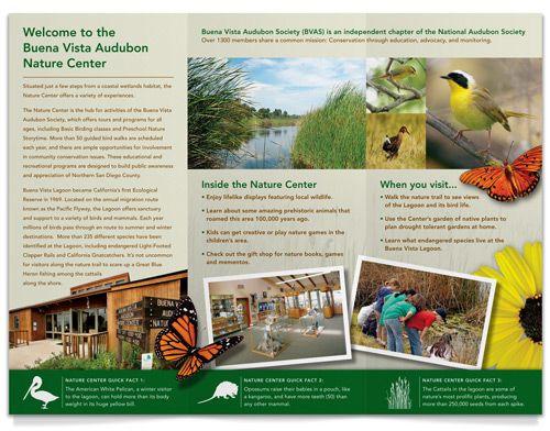 D Creative Studios - Portfolio - Buena Vista Audubon: Nature