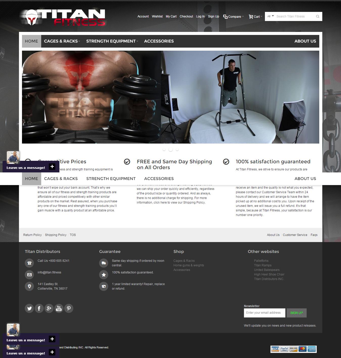 Fitness Healthcare eCommerce website built in #magento  #website #web #development #design