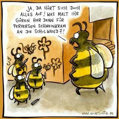 Bienen Witze