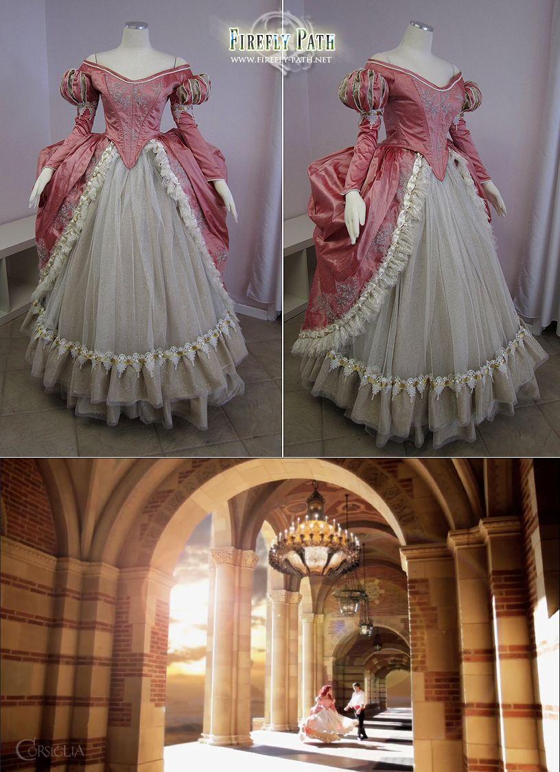 Ariel\'s Pink Ball Gown by Lillyxandra.deviantart.com | Disney ...