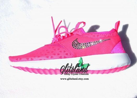 Sale!! Swarovski Nike Pink Blast Juvenate Blinged with SWAROVSKI® Crystals