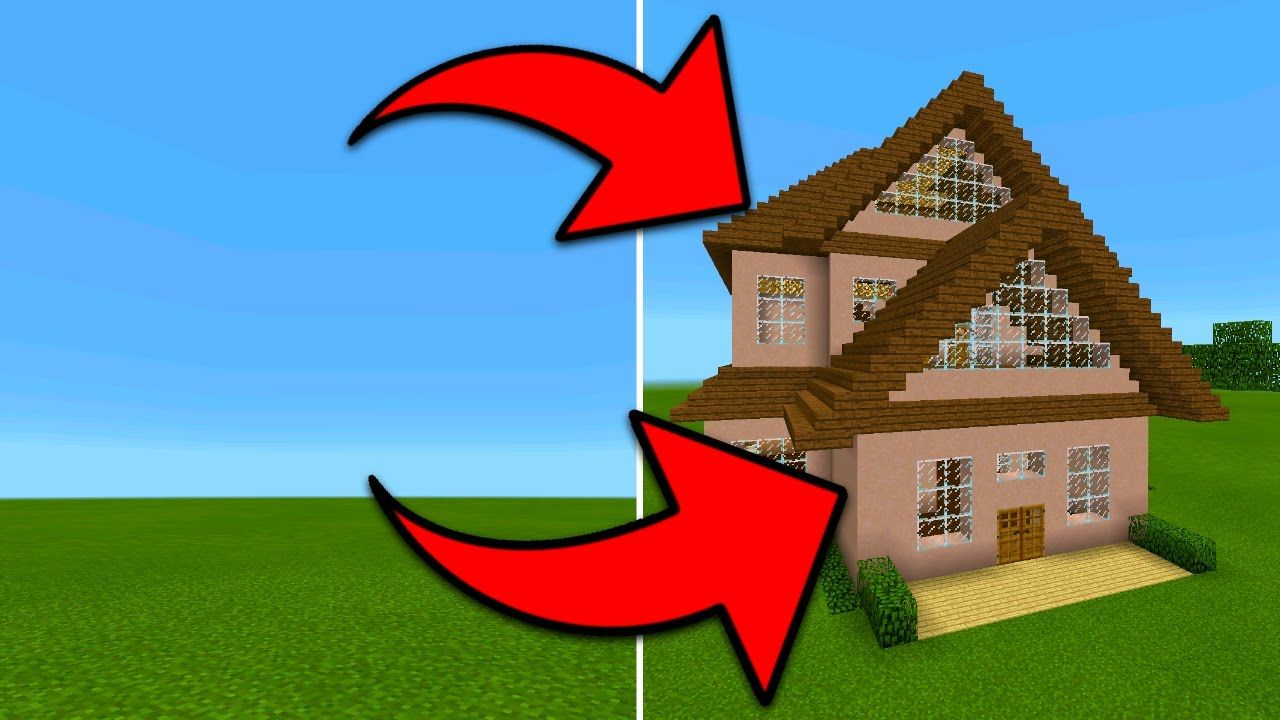 How To Spawn Houses In Minecraft Pocket Edition Instant Structures