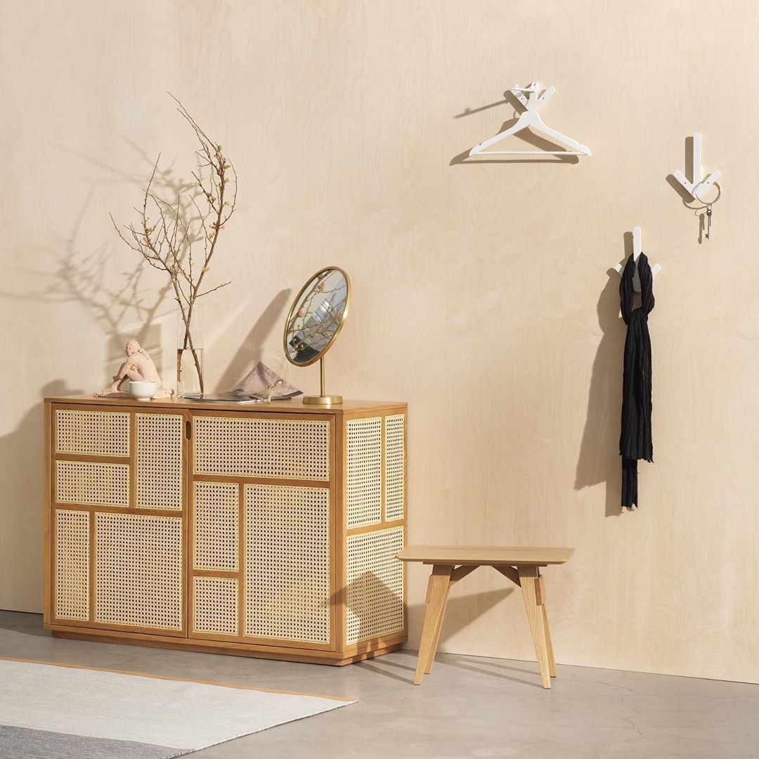 Design House Stockholm Is A Swedish Company That Creates Beautiful And Functiona Olson And Baker Design House Stockholm Is In 2020 Black Sideboard Furniture Design Cane Furniture