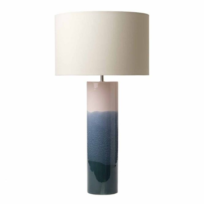 Ignatio Ceramic Pink And Blue Table Lamp Base Table Lamp Table