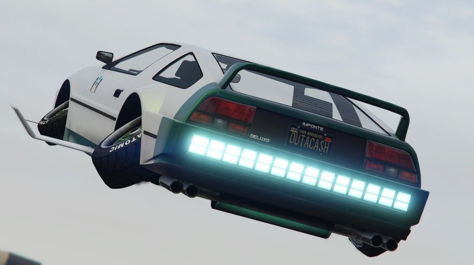 When You Need Custom Plates For Your Deluxo Grandtheftautov Gtav