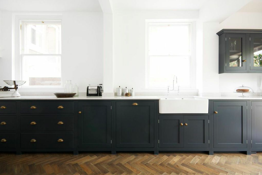 Amazing Moving Onu2026. Inspiration For My New Home. Dark Grey Kitchen CabinetsShaker  ...