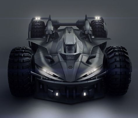 Batmobile Concept Car by Encho Enchev